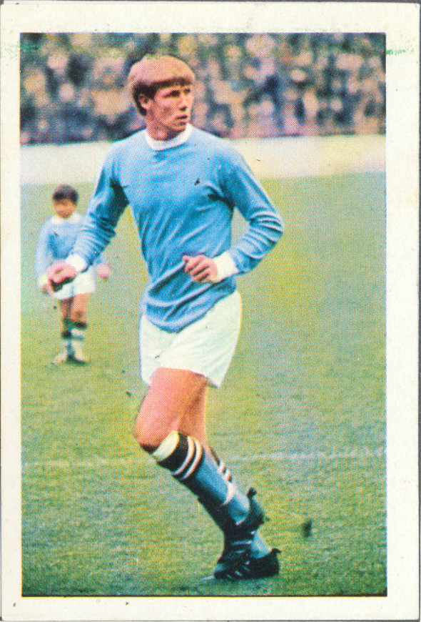 Manchester City F C Soccer Stars In Action1969 1970