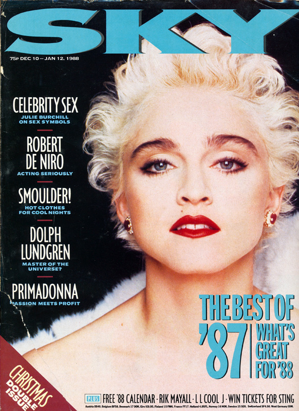 80 39 s pop culture magazines and more for Popular music 1988