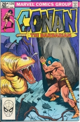 Conan The Barbarian Vol 1 No 126