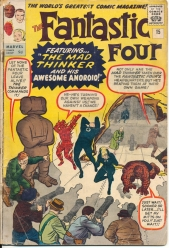 The Fantanstic Four Vol 1 No 15