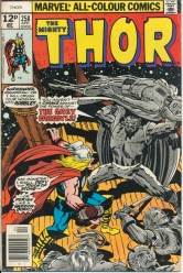 The Mighty Thor Vol 1 No 258