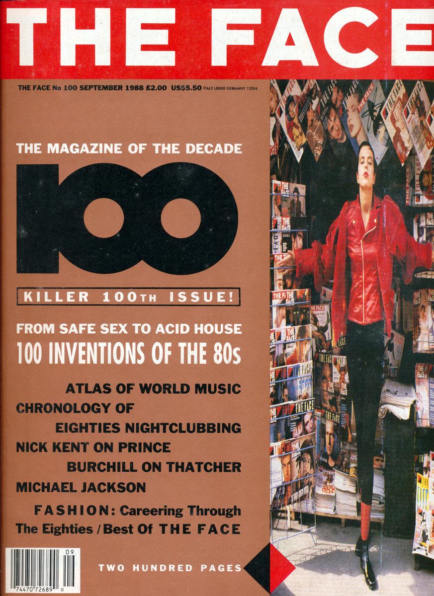 UK THE FACE MAGAZINE NOVEMBER 1985 #67 - SADE - TOM WAITS - 80's FASHION - VGC
