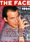 The Face Christian Slater Cover Issue 76
