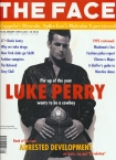 The Face Luke Perry Cover Issue 1993 52