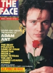 The Face Adam Ant Cover Issue 12