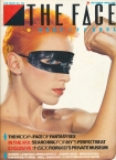 The Face Annie Lennox Cover Issue 42