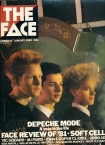 The Face Depeche Mode Cover Issue 21