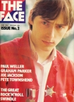 The Face Paul Weller Cover Issue 2