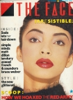 The Face Sade Cover Issue 48