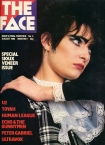 The Face Soiuxsie Sue Cover Issue 4