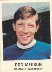 Don Megson Sheffield Wednesday