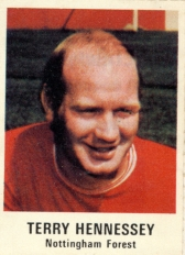 Terry Hennessey Nottingham Forest