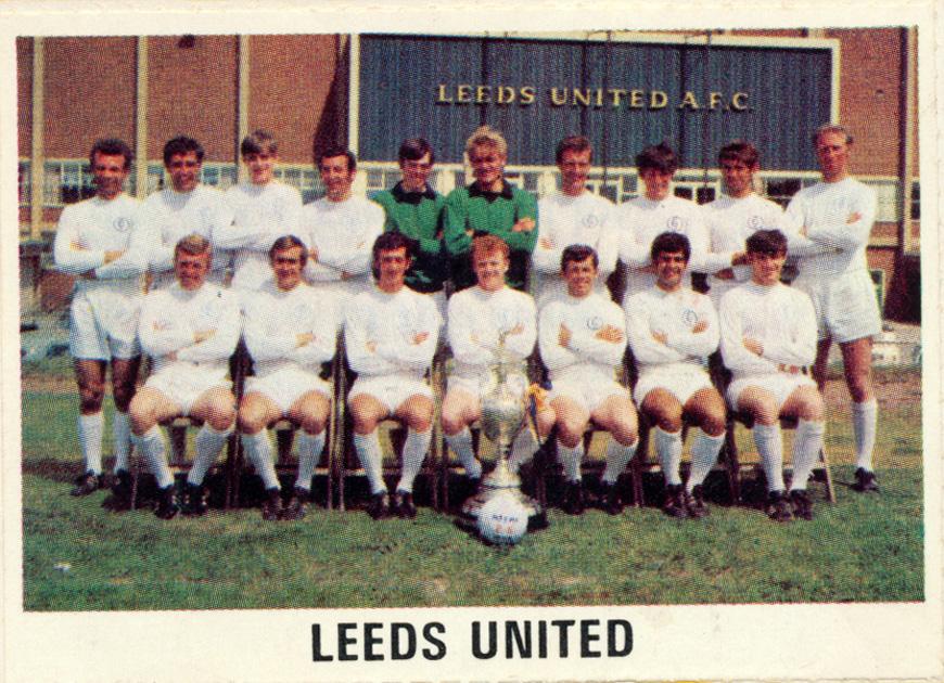 Leeds United: The Sun Souvenir Wall Chart Soccer Calendar 1970